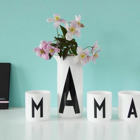 Design letters porcelain cup 2 grande