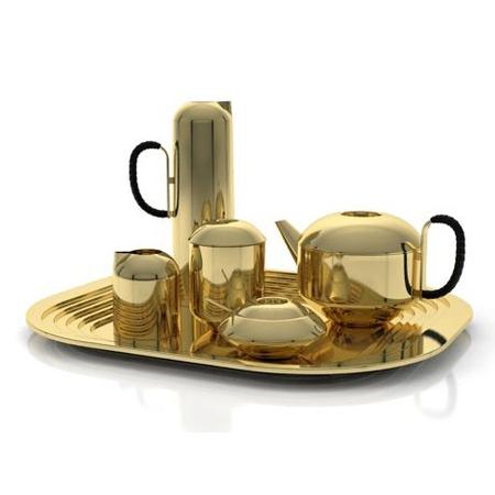 goldenes tablett aus messing. Black Bedroom Furniture Sets. Home Design Ideas
