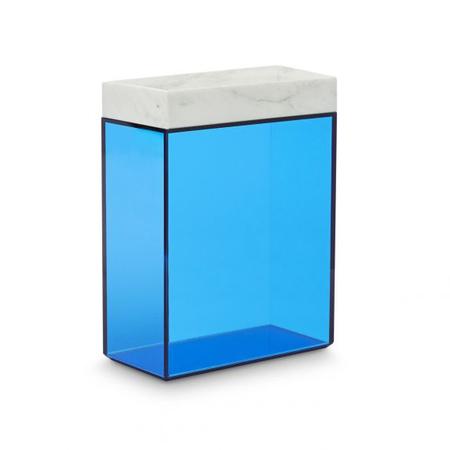Lid tall glass storage bin main
