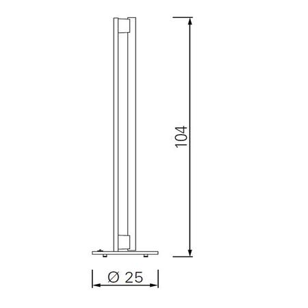 Classicon tube light stehleuchte plan