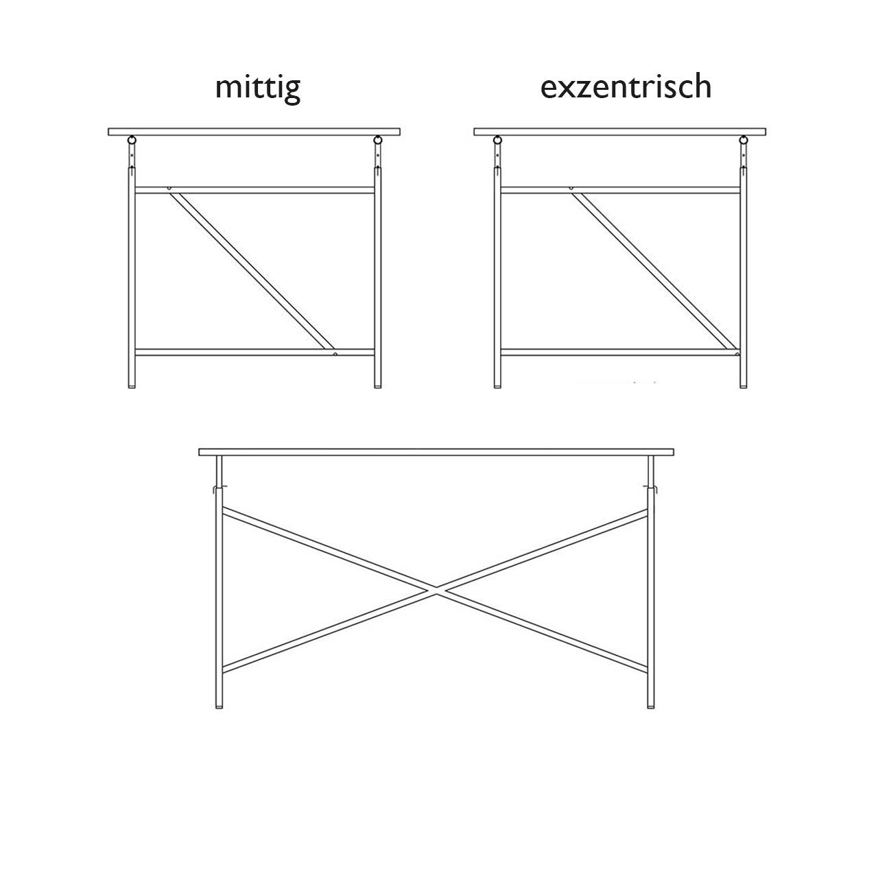 Tischgestell Egon Eiermann 1