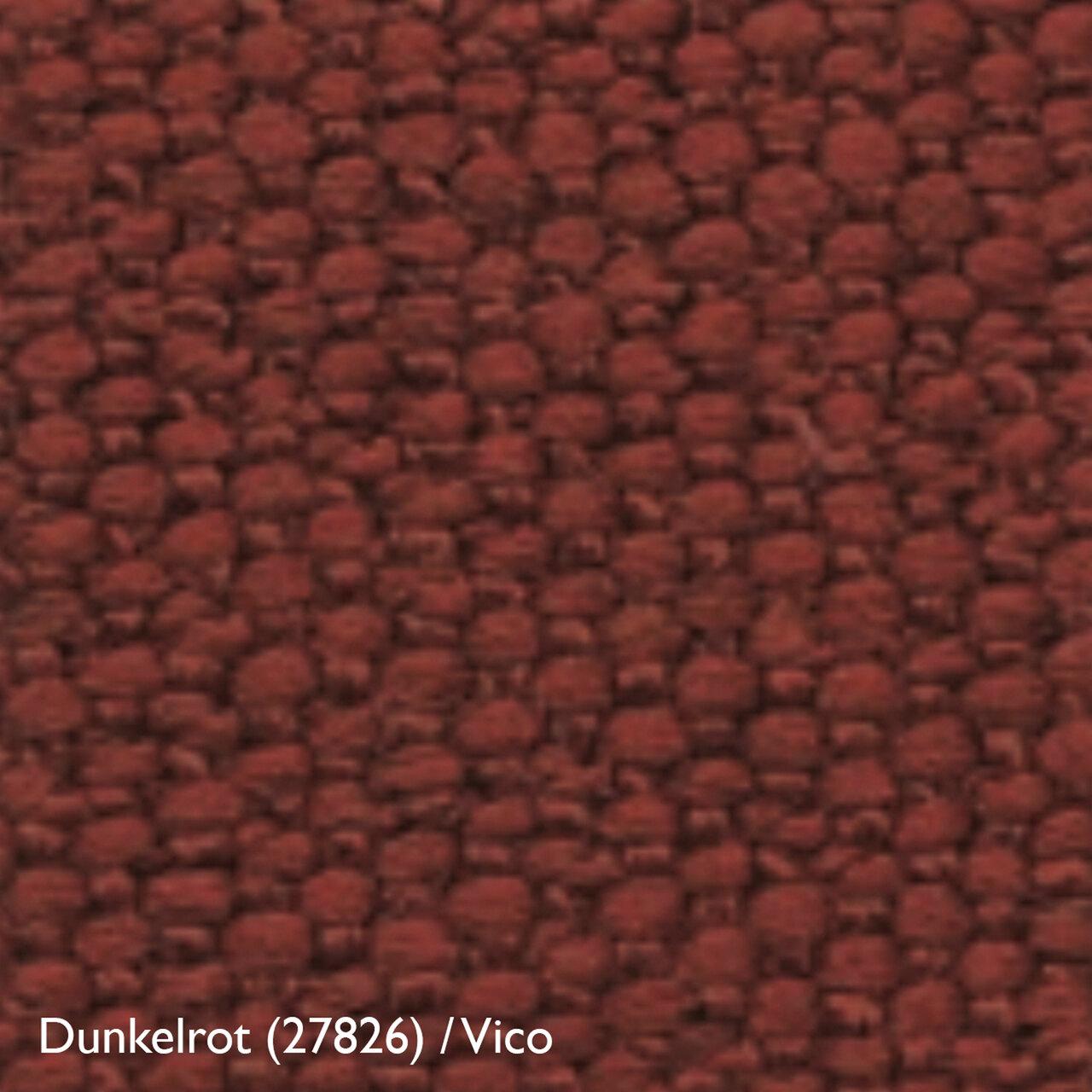 Stoff VIco Dunkelrot 126734 Zanotta