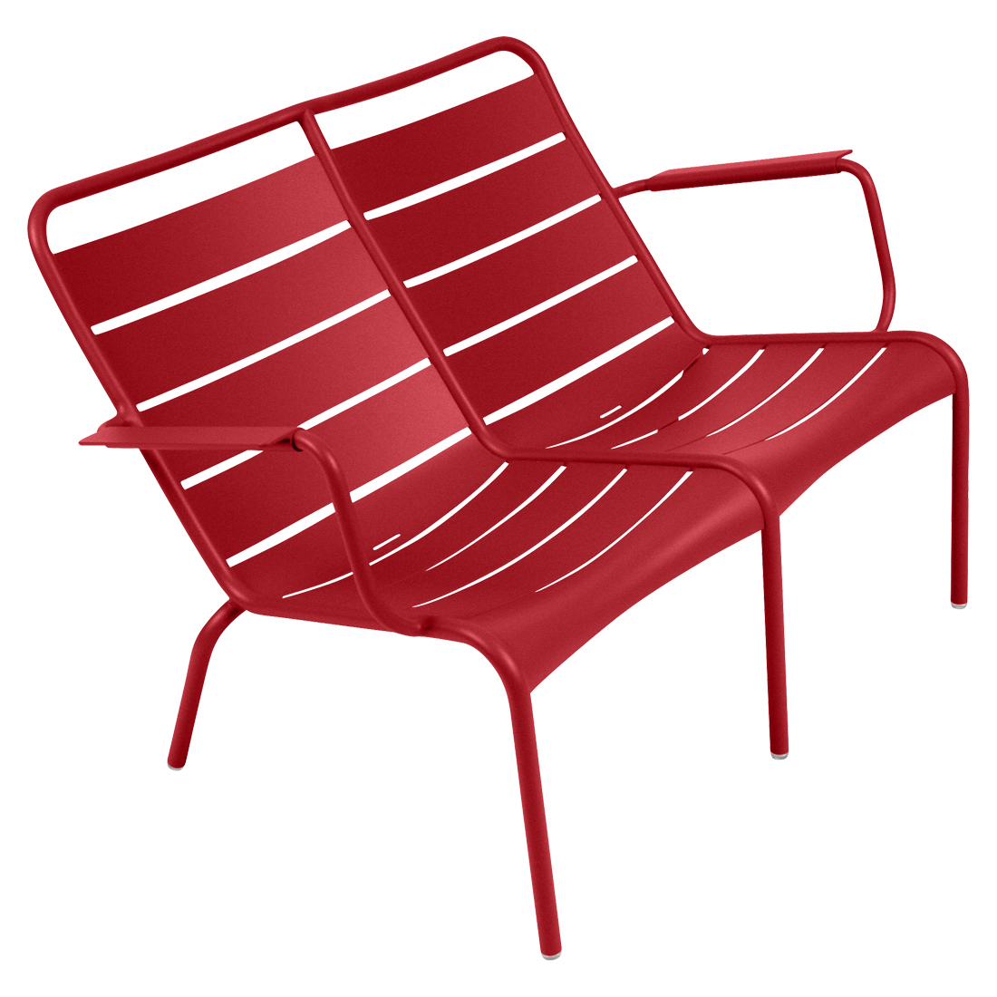 Fermob Doppel-Lounger Luxembourg  Mohnrot 67