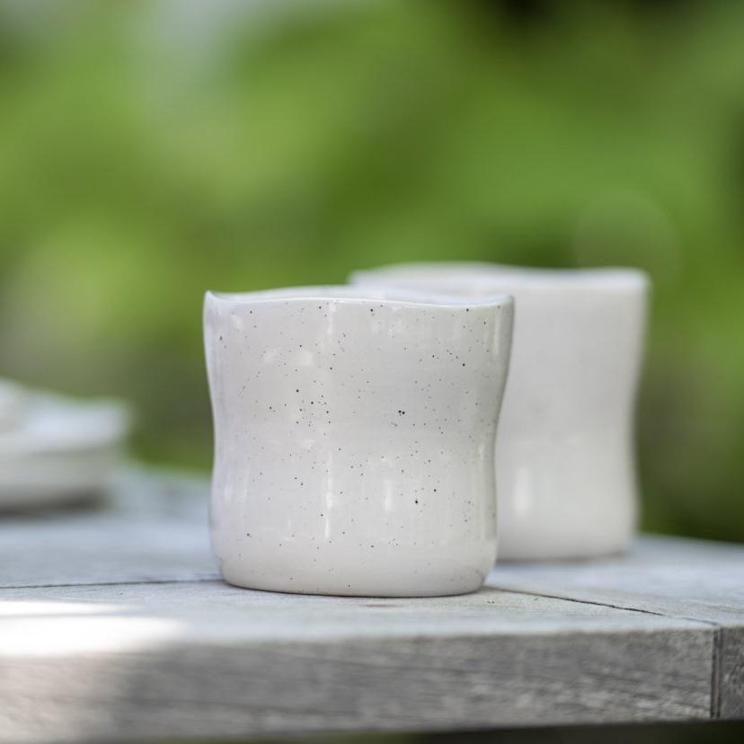 Becher Steinzeug Atmosphere Sika Design