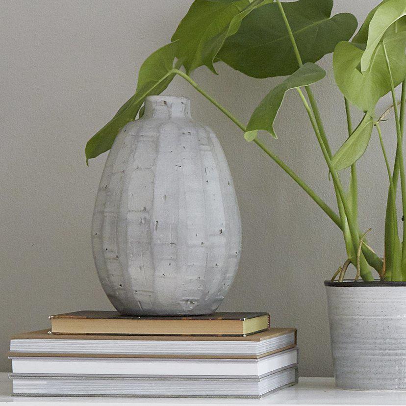 Vase Atmosphere Dunkelgrau Sika Design