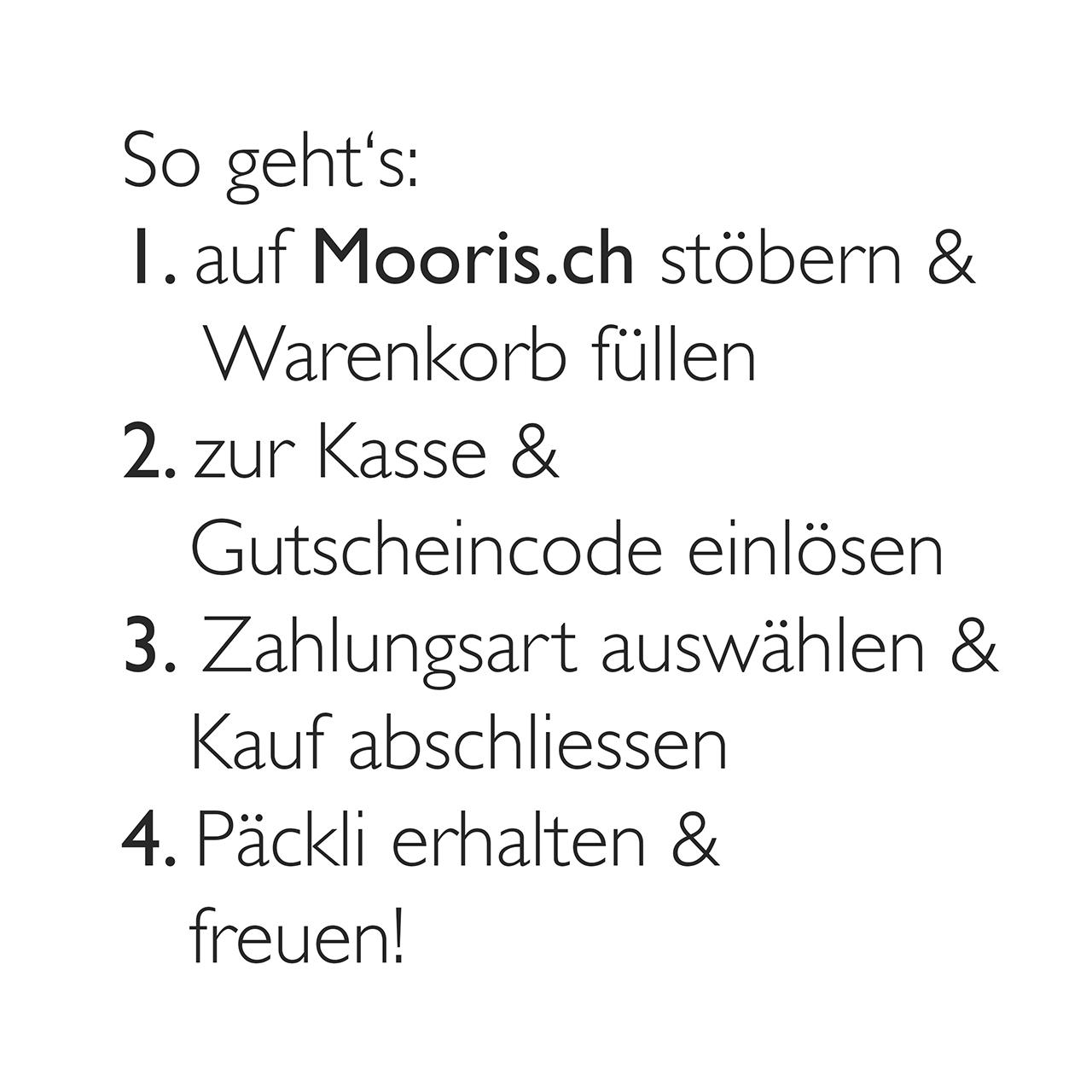 Mooris Gutschein Deutsch CH Fruehstueck