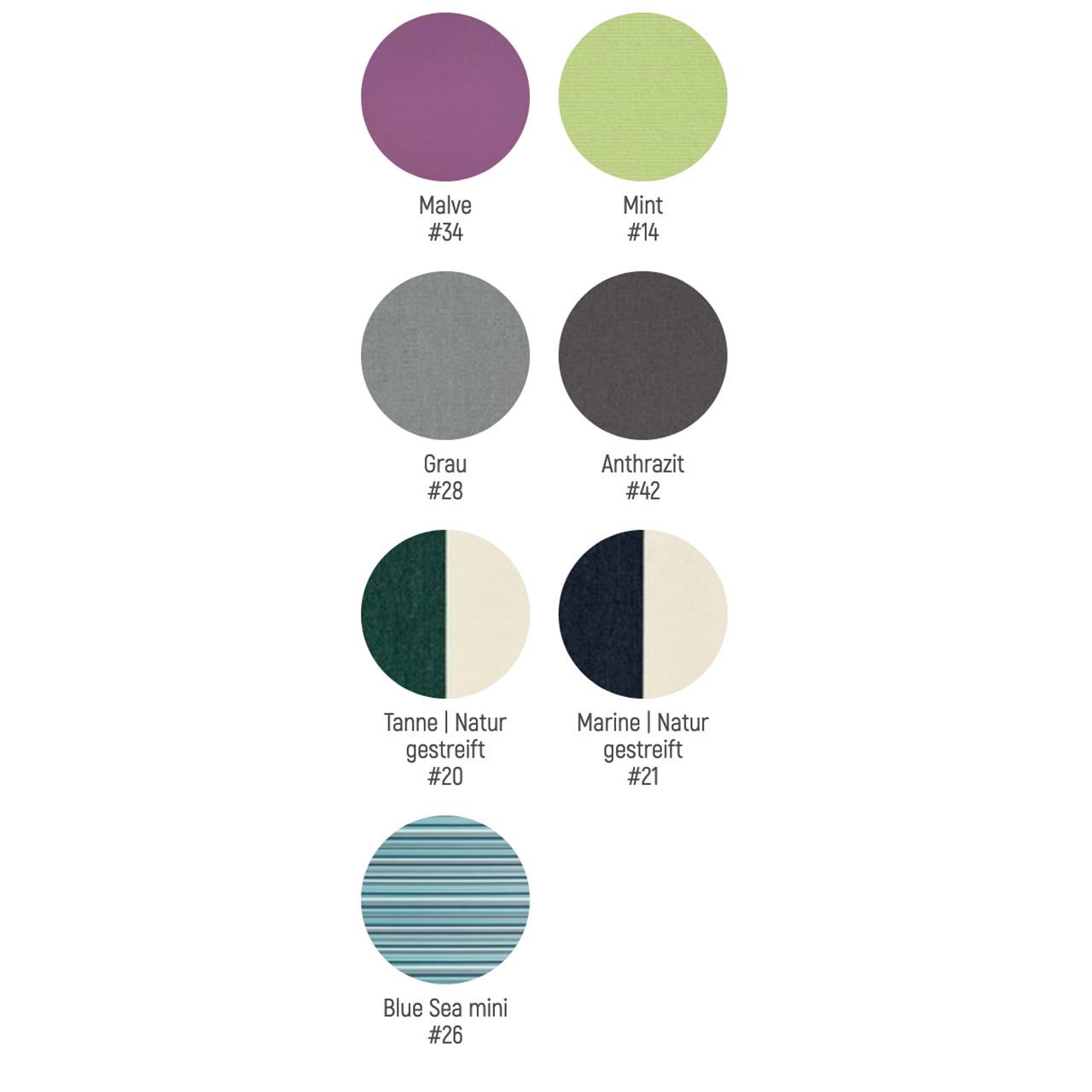 Weishäupl Farbauswahl