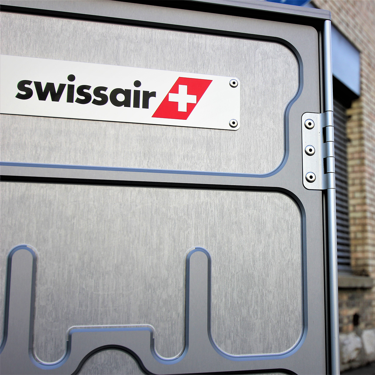 Aviatik Airline Trolley Swissair