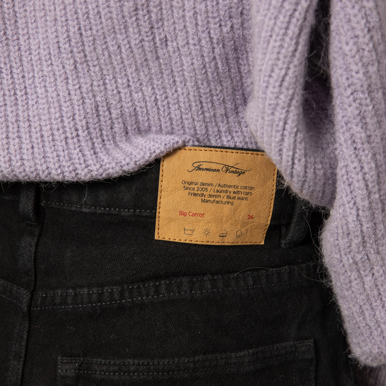 Lässige Denim von 'American Vintage' in Schwarz