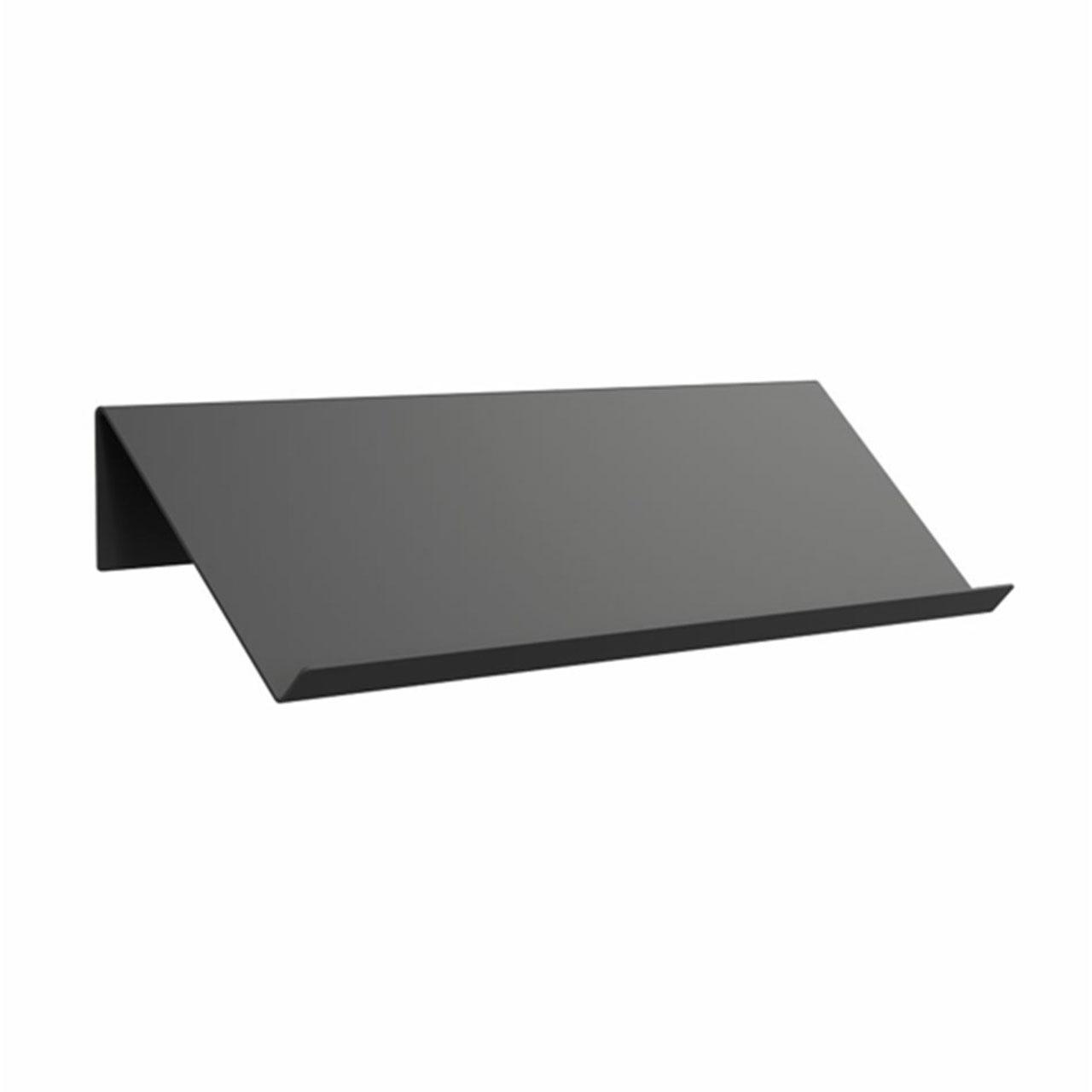 Frost Schuh-/Magazinregal   Matt schwarz,  100 cm