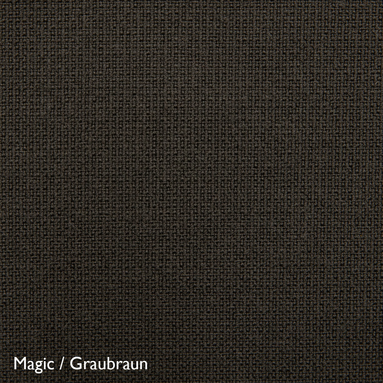 Fluidum Eleganter Sessel 'Grace'  Stoff Magic / Graubraun