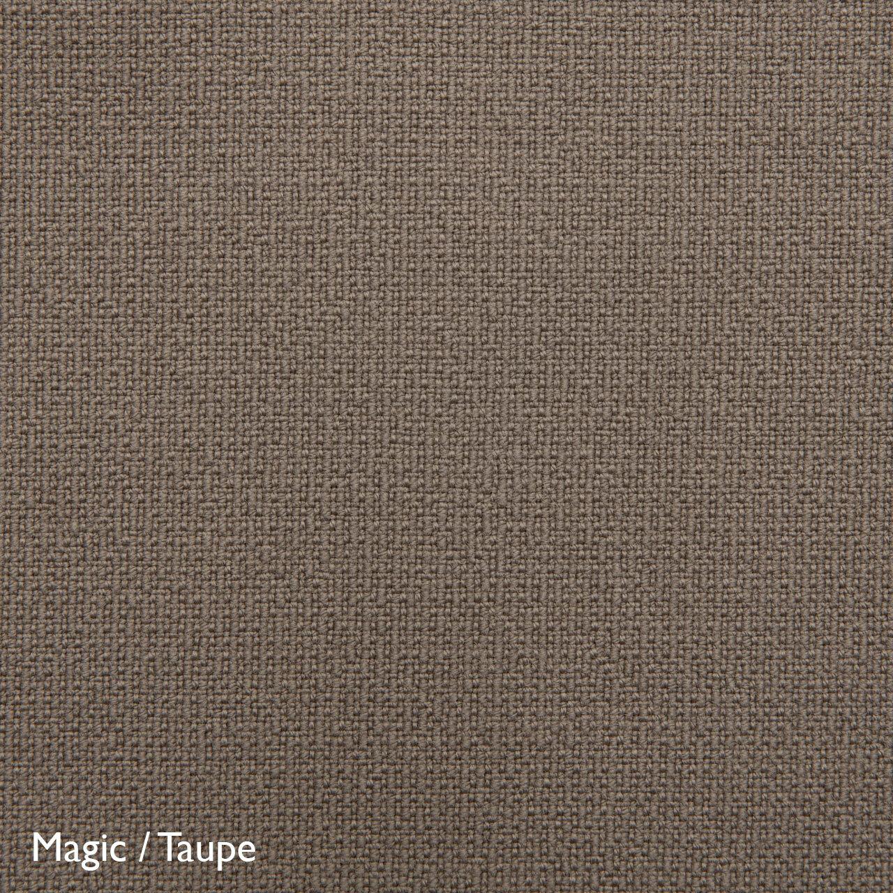 Fluidum Eleganter Sessel 'Grace'  Stoff Magic / Taupe