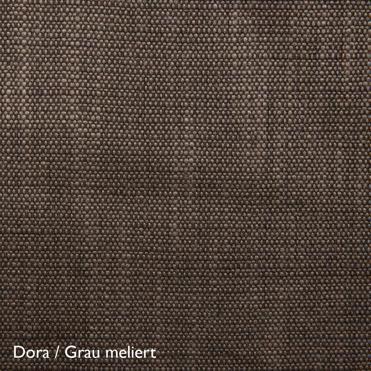 Fluidum Eleganter Sessel 'Grace'  Stoff Dora / Grau meliert