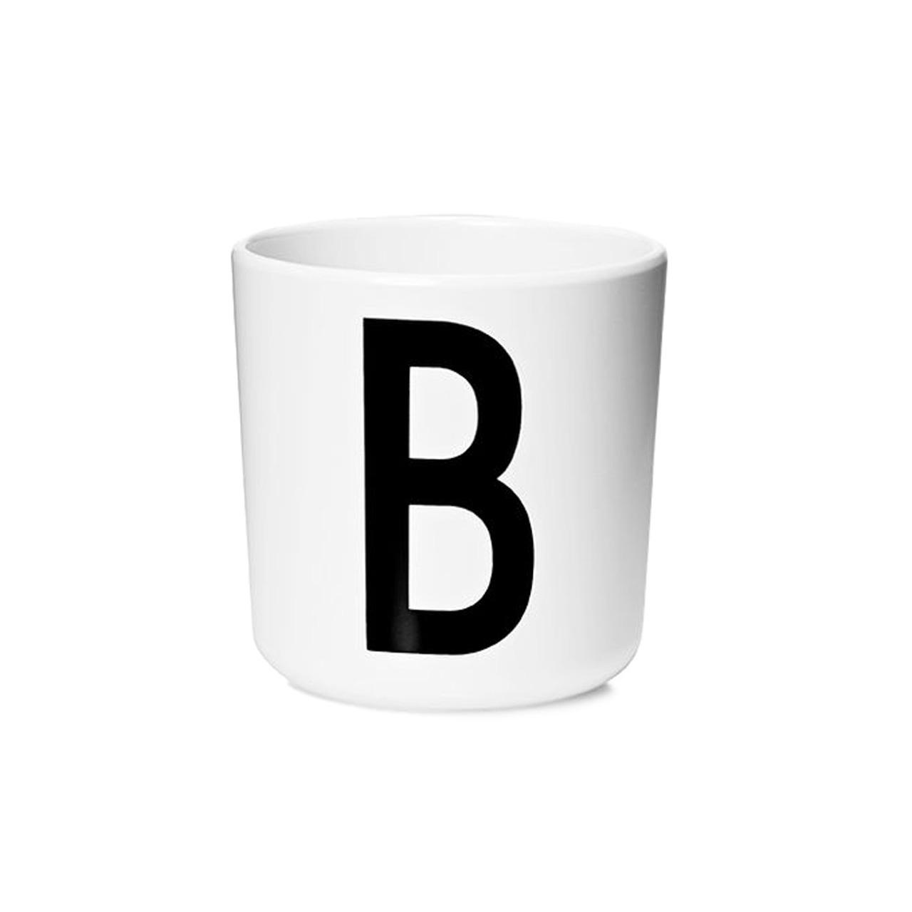 Design Letters Persönlicher Porzellan-Becher von A-Z 'Design Letters'  B