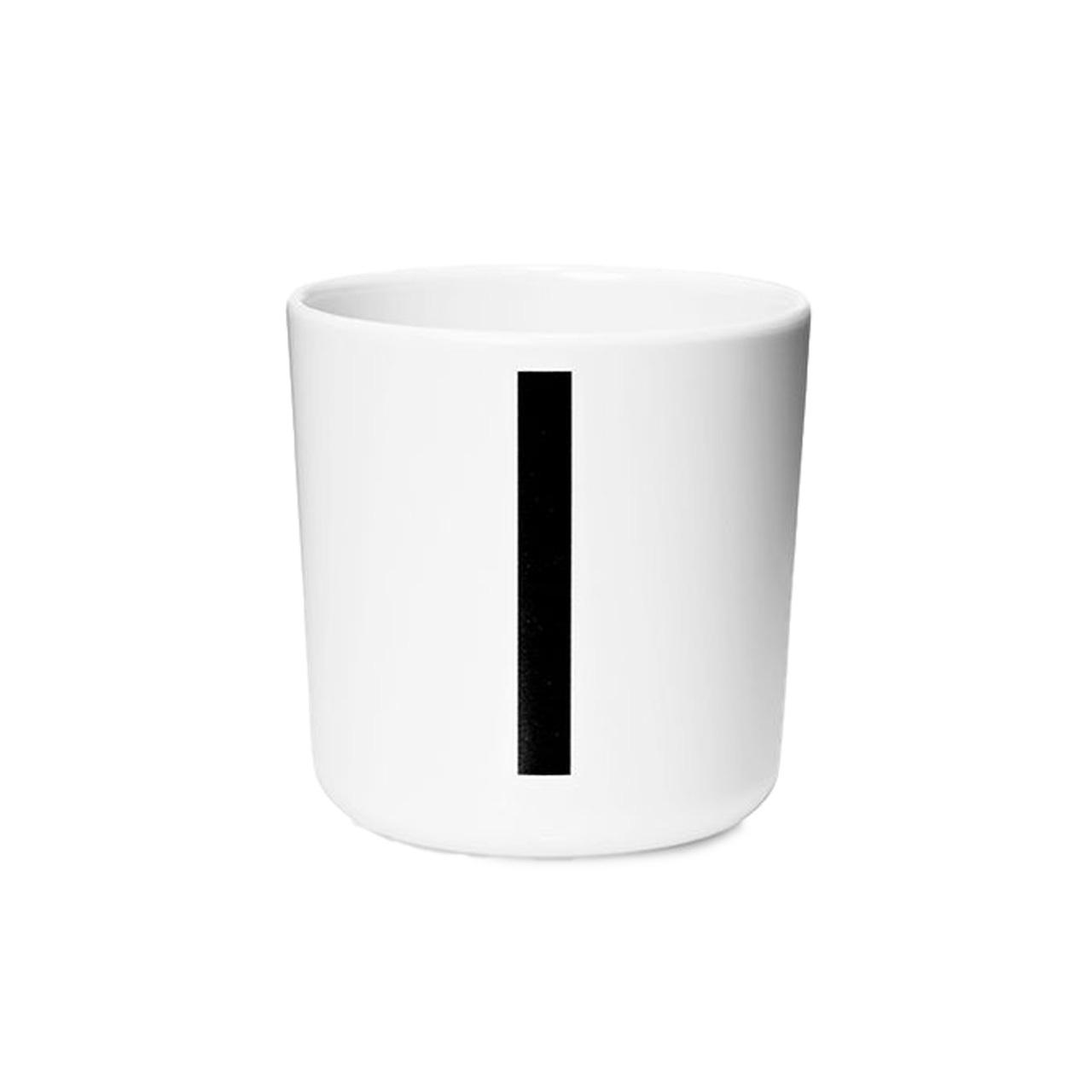 Design Letters Persönlicher Porzellan-Becher von A-Z 'Design Letters'  I