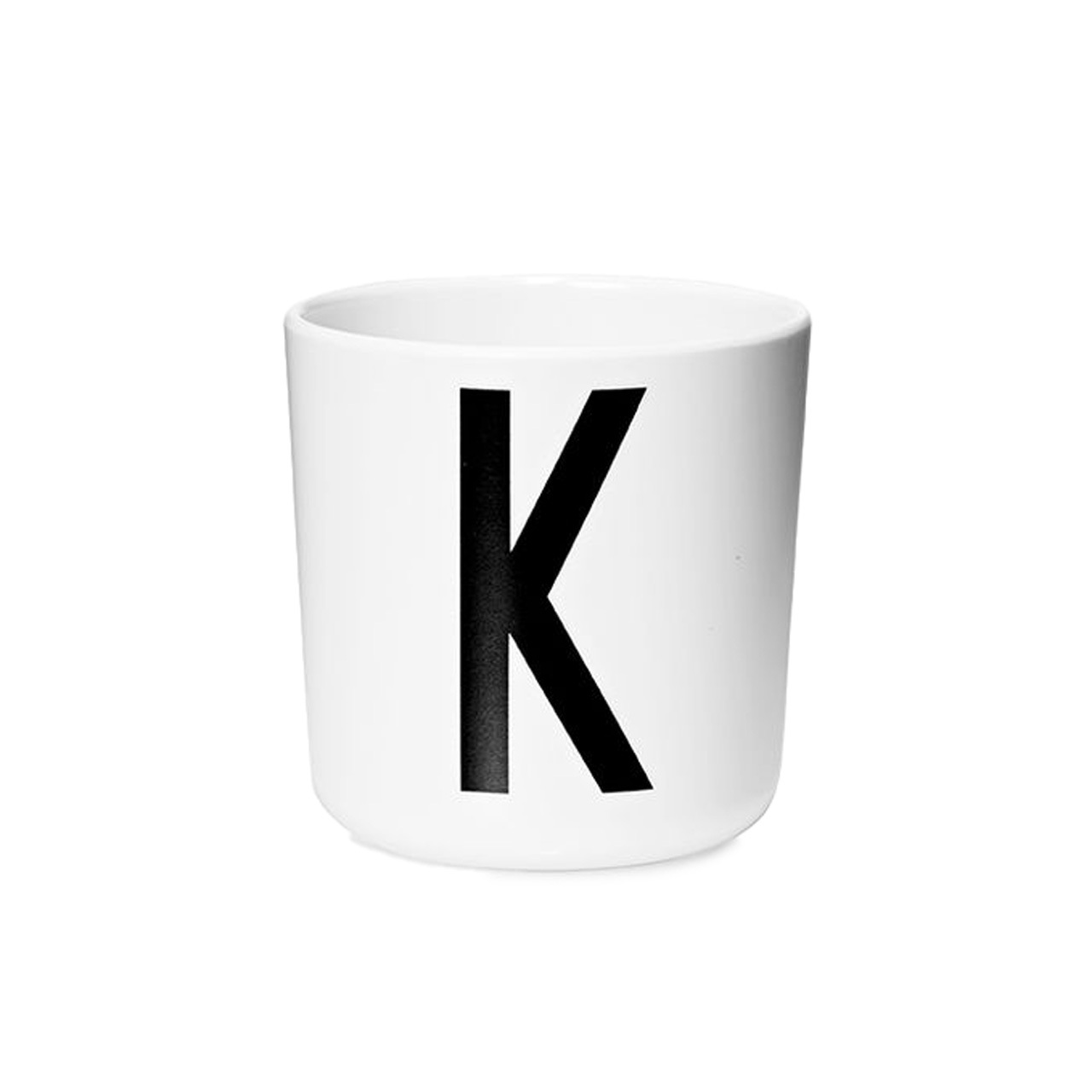 Design Letters Persönlicher Porzellan-Becher von A-Z 'Design Letters'  K
