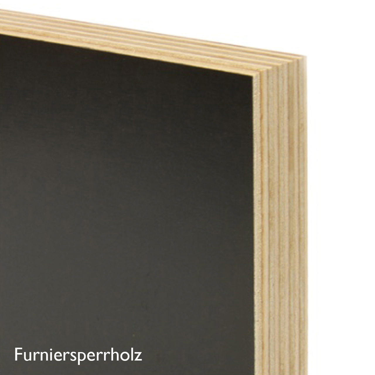 Regal FNP Furniersperrholz schwarz