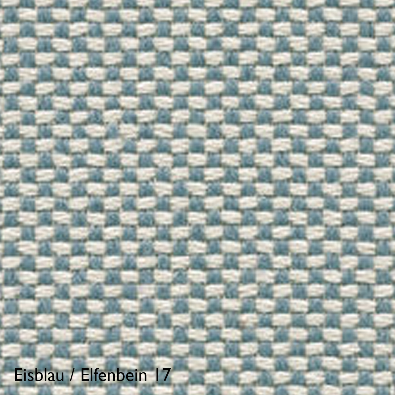 Vitra Farbkachel Eisblau / Elfenbein 17