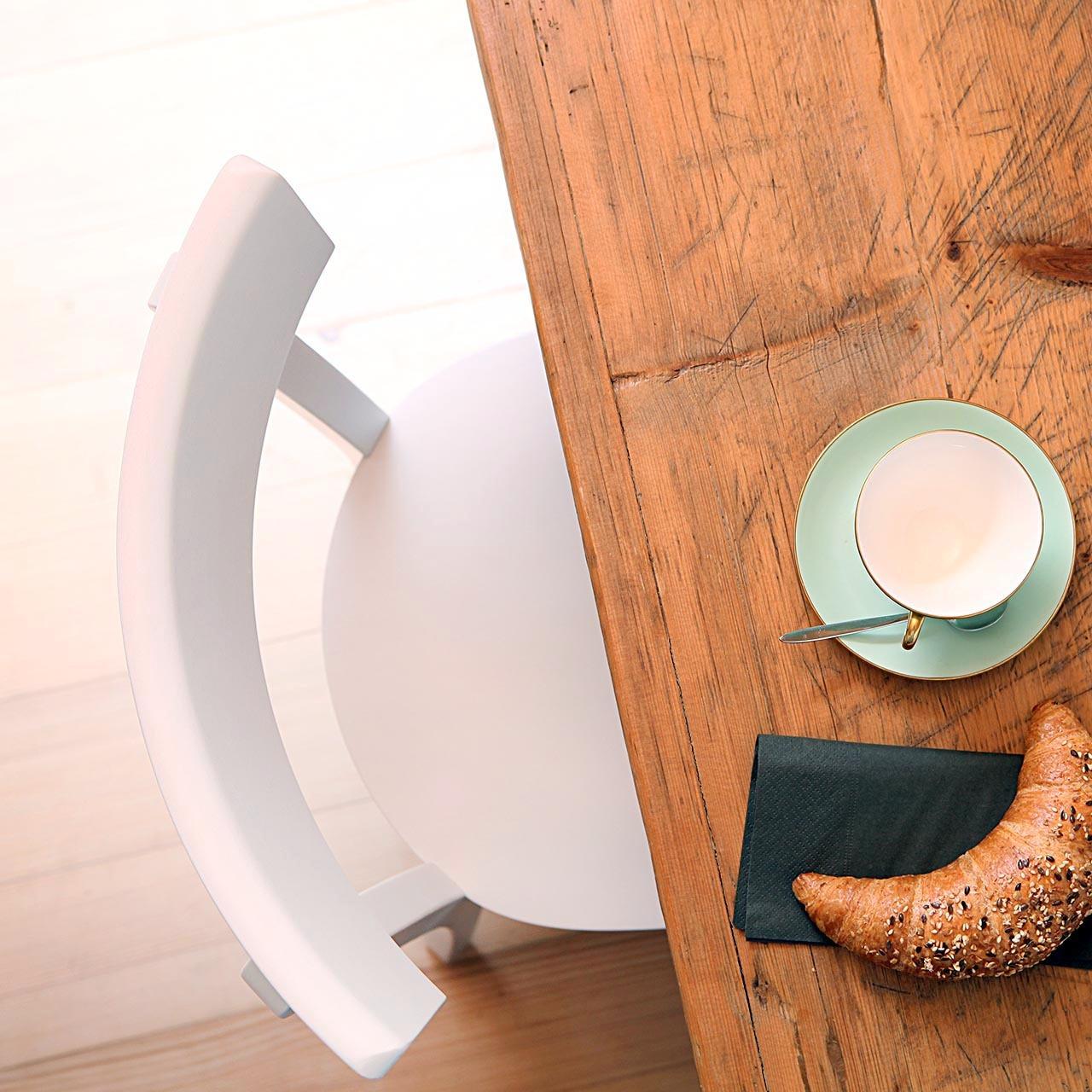 Frankfurter Küchenstuhl Weiss