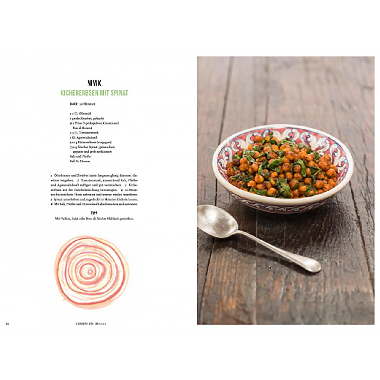 Neun Zehn Verlag 'Vegan Oriental' Kochbuch 08