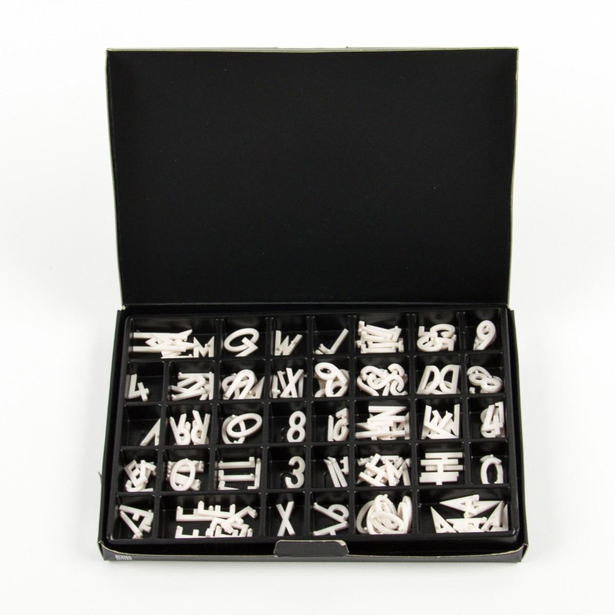 Buchstabenbox Design Letters