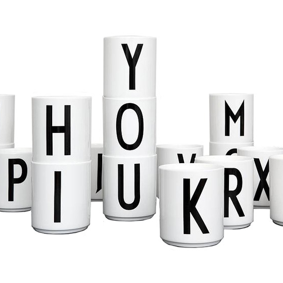 Cup Design Letters