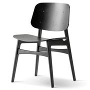 stuhl s borg von 39 fredericia 39. Black Bedroom Furniture Sets. Home Design Ideas