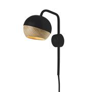 Mater ray wall lamp black