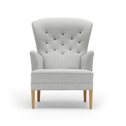 Carl hansen heritage chair front
