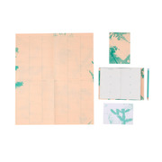 Agenda, Notizbuch und Poster im 'Flora' Print