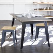 Ess- oder Arbeitstisch in Linoleum