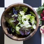 Salatschüssel aus Akazienholz