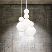 Formagenda benjamin hopf 0004 pearls suspension lamp lampe gold ambiente 06