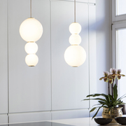 Formagenda benjamin hopf 0009 pearls suspension lamp lampe gold ambiente 02