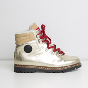 Warme 'Ammann'-Hikingboots in Gold