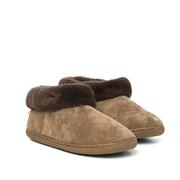 Kreta Lammfell-Schuhe, braun