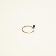 'Pluto Pearl' Ohrring