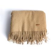 Weiche Decke aus Kamelwolle