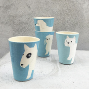 4er-Set Cups für Hundeliebhaber