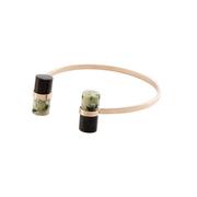 Circum tangoarmband blackish green greenmarble 1