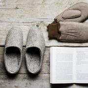 Kult-Pantoffeln von 'Arno Wolf'