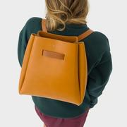 Puristischer Leder-Rucksack von 'Velt'