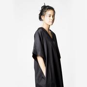 Oversize Blusenkleid mit Knöpfen