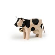 Grosse Holz-Kuh mit Glöggli