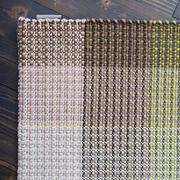 Handgewebter Teppich 'Glory' mit Karomuster