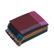 Hochlandwoll-Decke 'Colour Block'
