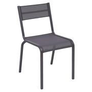 Einzelstück: Stuhl 'Oléron' pflaume