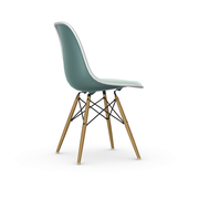 'Eames Plastic Side Chair' mit Vollpolster