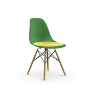 'Eames Plastic Side Chair' mit Sitzpolster