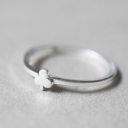 Zarter Ring 'Little Clover'